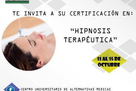 Certificación Internacional en Hipnosis Terapéutica y Profunda