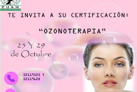 Certificación internacional de Ozonoterapia